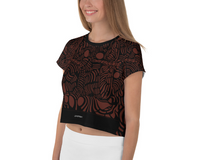 EPHORON WINE SPORT CROP TOP - D.H. Lovefish Co.