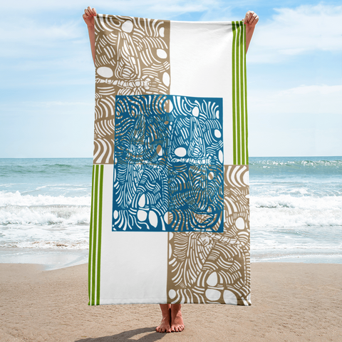 EPHORON RAVE BEACH TOWEL - D.H. Lovefish Co.