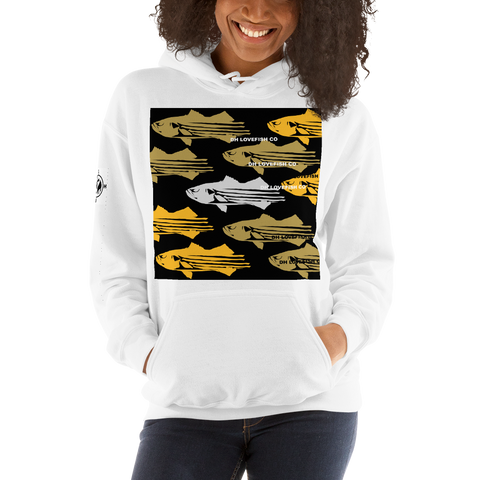 STRIPER LOVE UNISEX HOODY - D.H. Lovefish Co.
