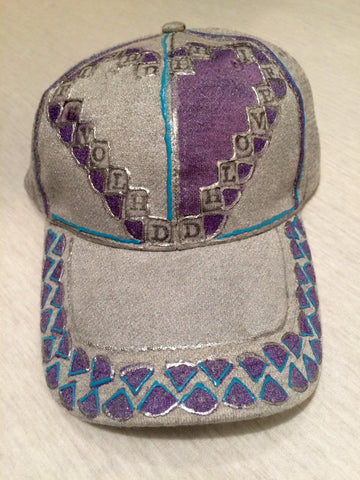 Handpainted Cap (1X) - D.H. Lovefish Co.