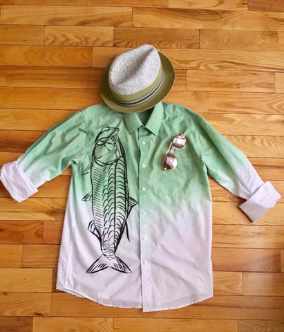 Men's Megalops Master Shirt - D.H. Lovefish Co.