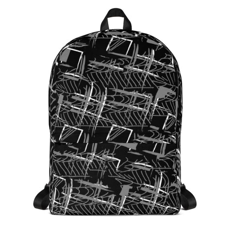 HASHTAG PLAID BACKPACK - D.H. Lovefish Co.