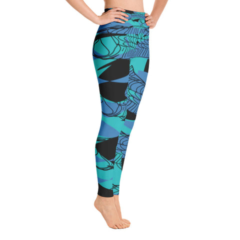 MEGALOPS CANDY BOOLICIOUS SPORT LEGGINGS - D.H. Lovefish Co.