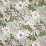 Tropical Garden (Sage) Island Floral Fabric
