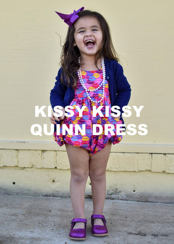 Kissy Kissy - QUINN DRESS (NOT BUBBLE)