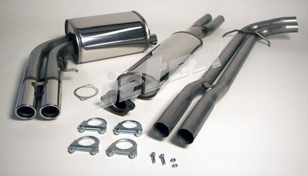 Volvo S60R / V70R 304 Stainless Steel Performance Exhaust. This product is made to order