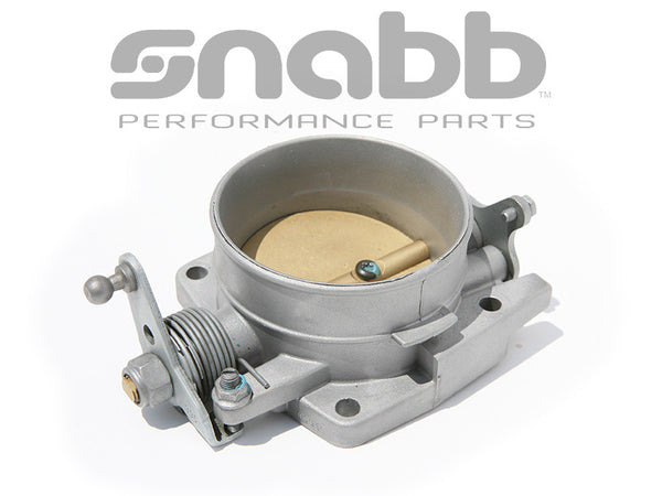 VOLVO BIG BORE THROTTLE BODY WITH 960 PLATE INSTALLED