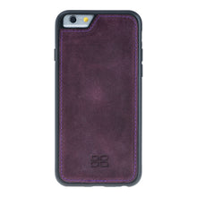 iPhone 6 / 6S Detachable Wallet Case - Snap-on Case (2 Case in 1), iPhone 6s Case, Perfect for Cards and Cash in AnticPurple