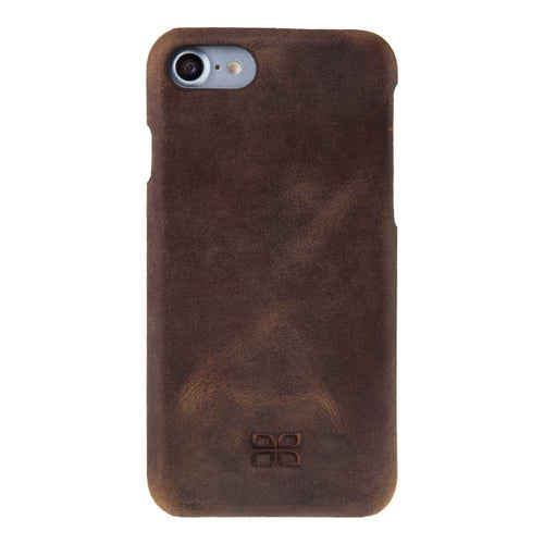 iPhone 7  / 8 Case Premium Leather Case, iPhone 7 / 8 Snap On Leather Case, The Best Case for iPhone 7 / 8 in Stylish AnticBrown