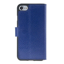 iPhone 7  / 8 Wallet Case, iPhone 8 Leather Wallet Case with Magnetic Closure, Perfect for 3+ Cards and Cash in FloaterBlue
