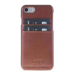 iPhone 7  / 8 Leather Case , iPhone 7 Leather Cover, The Best Case for iPhone 8, Perfect to carry Essential Cards, in FloaterTan