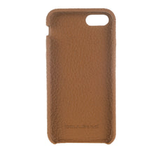iPhone 7 / 8 Leather Cover, iPhone 8 Case Snap On Full Leather Case, The Best Case for iPhone 7  / 8 , Genuine Leather in FloaterTan