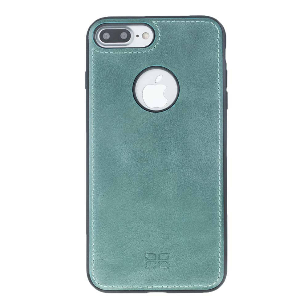iPhone 7 Plus / 8 Plus Leather Cover, iPhone 7 Plus / 8 Plus Case Snap On Case, The Best Case Genuine Leather in Antique Green