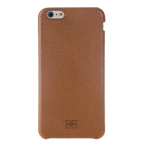 iPhone 6 Plus / 6S Plus Leather Case, iPhone 6 Plus Case Snap On Full Leather Case, The Best Case for iPhone 6 Plus , Real Leather