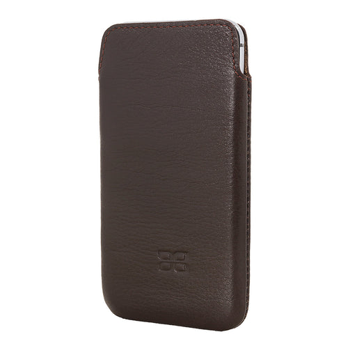 iPhone 6s Case, iPhone 6 Leather Case,  Pocket Case in Brown