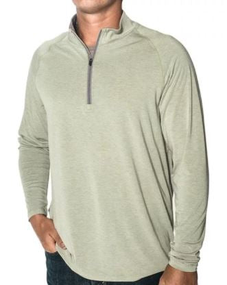 Men's Bamboo Flex Quarter Zip by Free Fly at Headwaters Outdoors