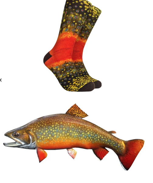 Reel Thread Socks/Brooktrout