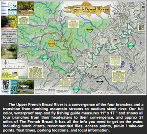 Upper French Broad River Map