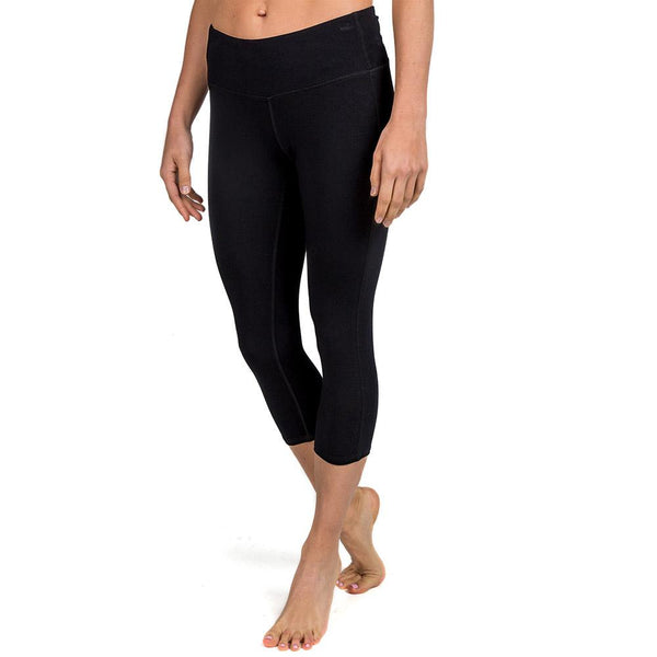 Womens Bamboo Cropped Tights
