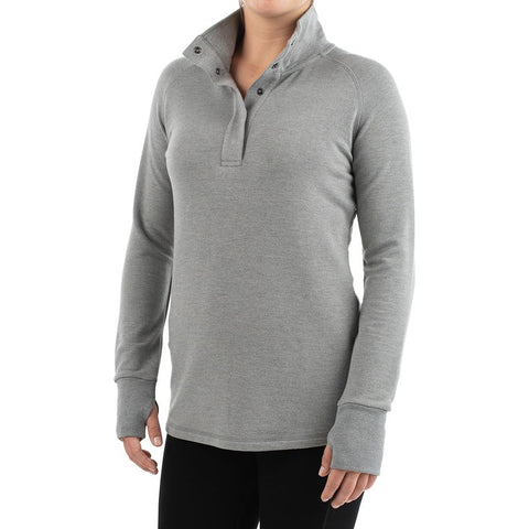 Women's Bamboo Thermal Pullover