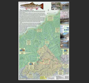 Oconaluftee River Map