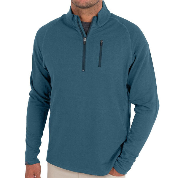 Men's Bamboo Fleece Quarter Zip