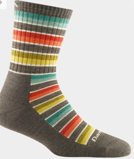 Decade Stripe, Micro Crew W/ Mid Weight Cushion