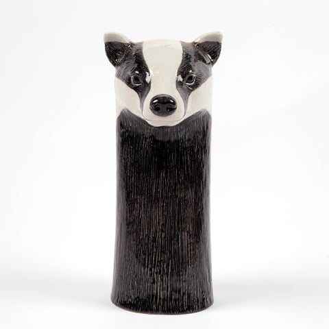 Flower Vase Badger