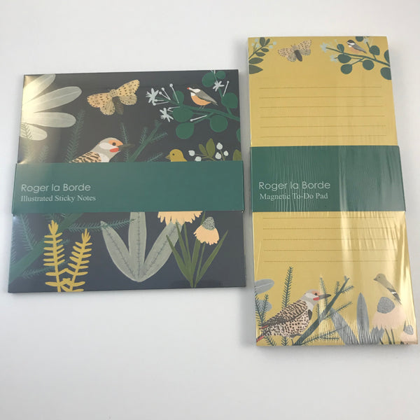Bird Notepad and Sticky Notes