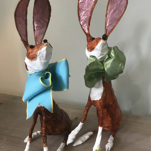 Hares by Joanna Coupland