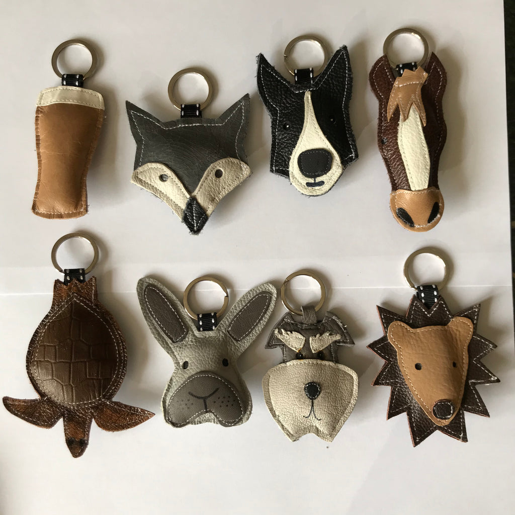 Leather Key Rings 2