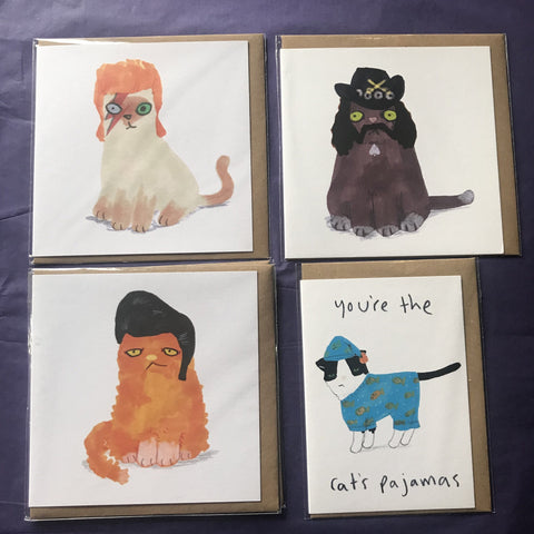Birthday Cards 1a Cats