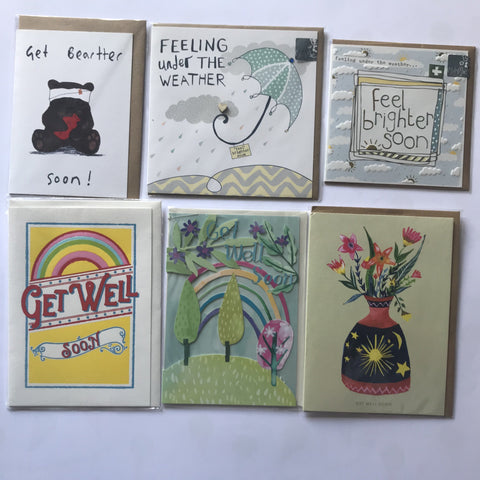 Cards - Get Well Soon