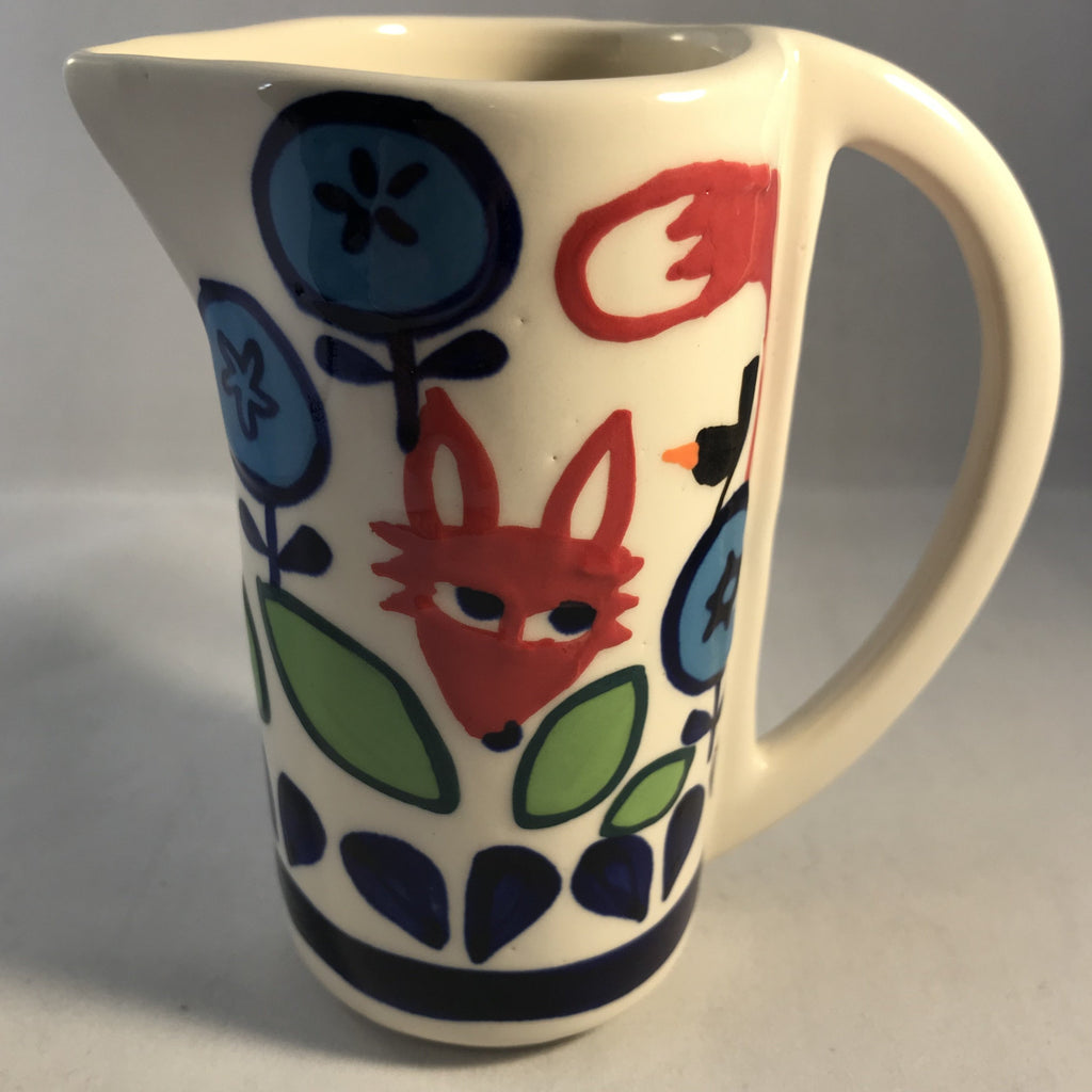 Fox and Fauna Milk Small Jug