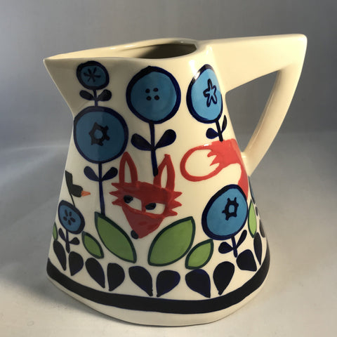 Fox and Fauna Large Jug