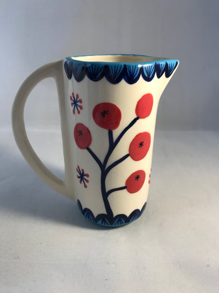 Flowers and Berries Milk Small Jug