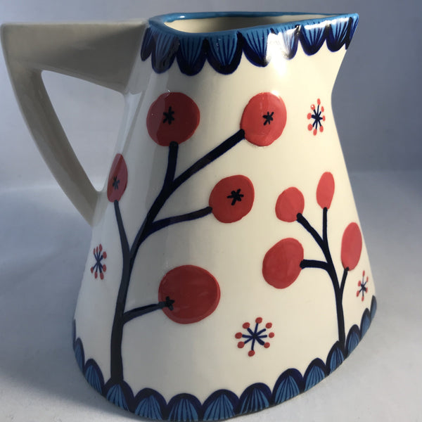 Flowers and Berries Large Jug