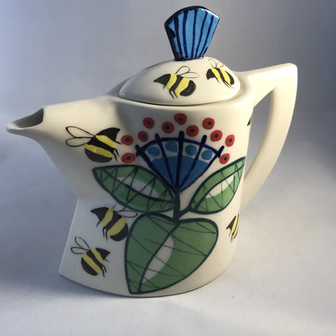 Bees Tea Pot