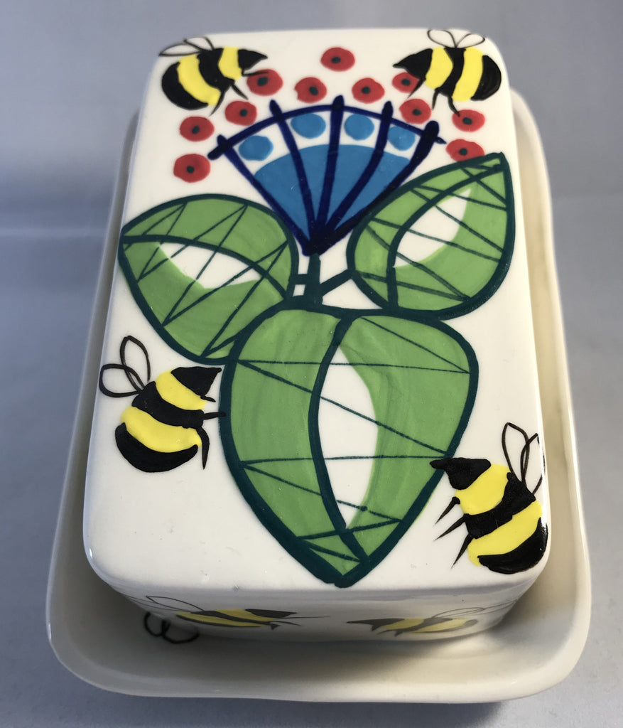 Bees Butter Dish