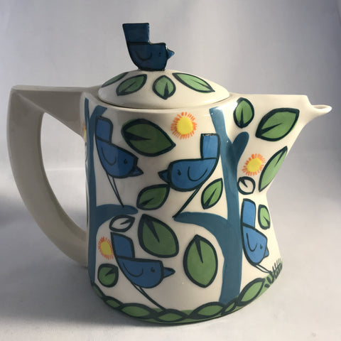 Birds Tea Pot