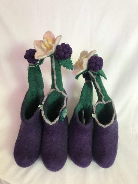 Fairy Felt Slippers - Childrens