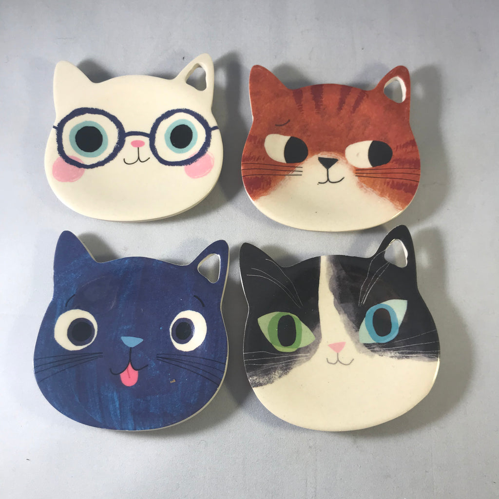 Planet Cat Tea Bag Tidy