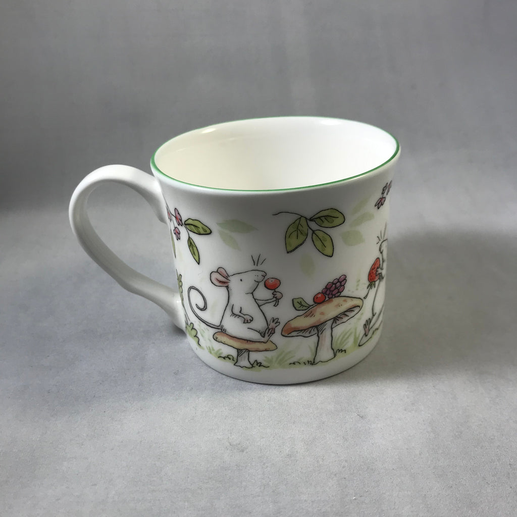 Whimsical China Small Mug Fruit Tea