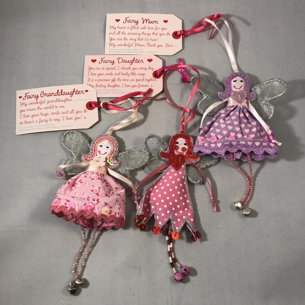 Fairy Charms with message