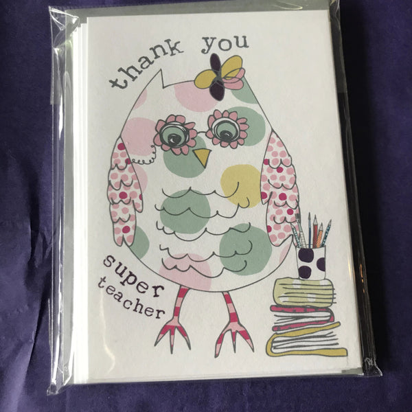 Cards - Teachers Thank you End of Term