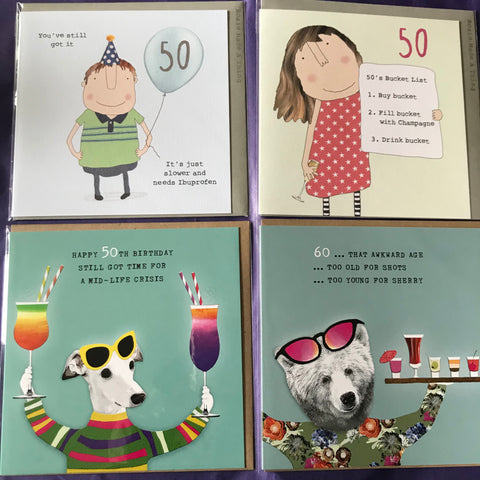 Cards -  Age 50 and 60 (part 2)