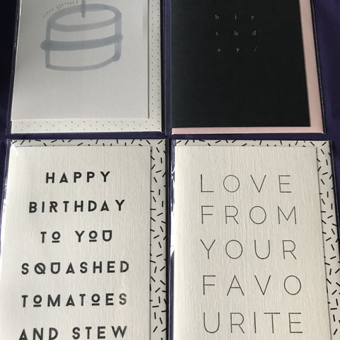 Birthday Cards 3a
