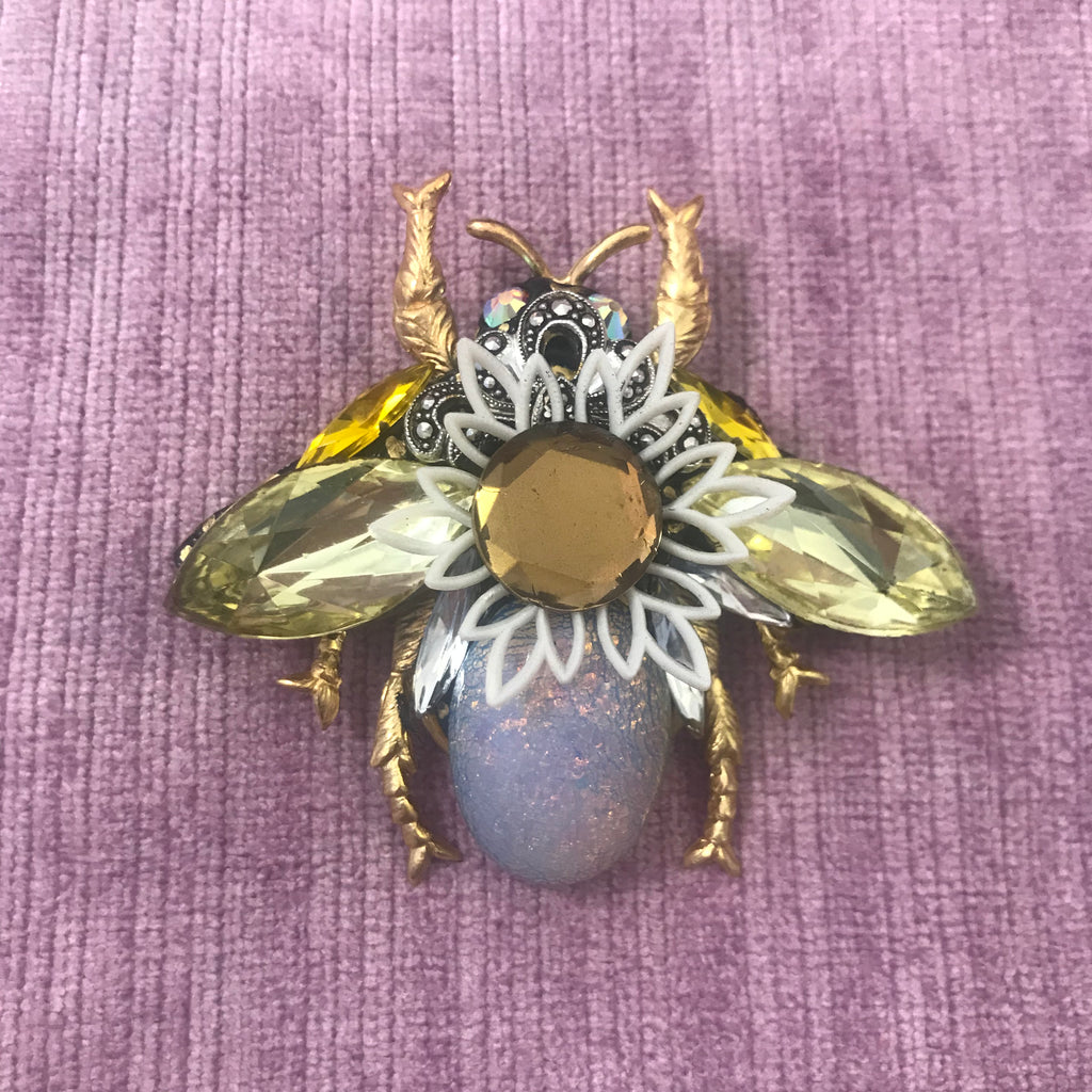 Vintage Style Bee Brooches