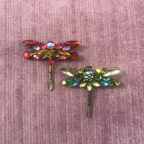 Vintage Style Dragonfly Brooches