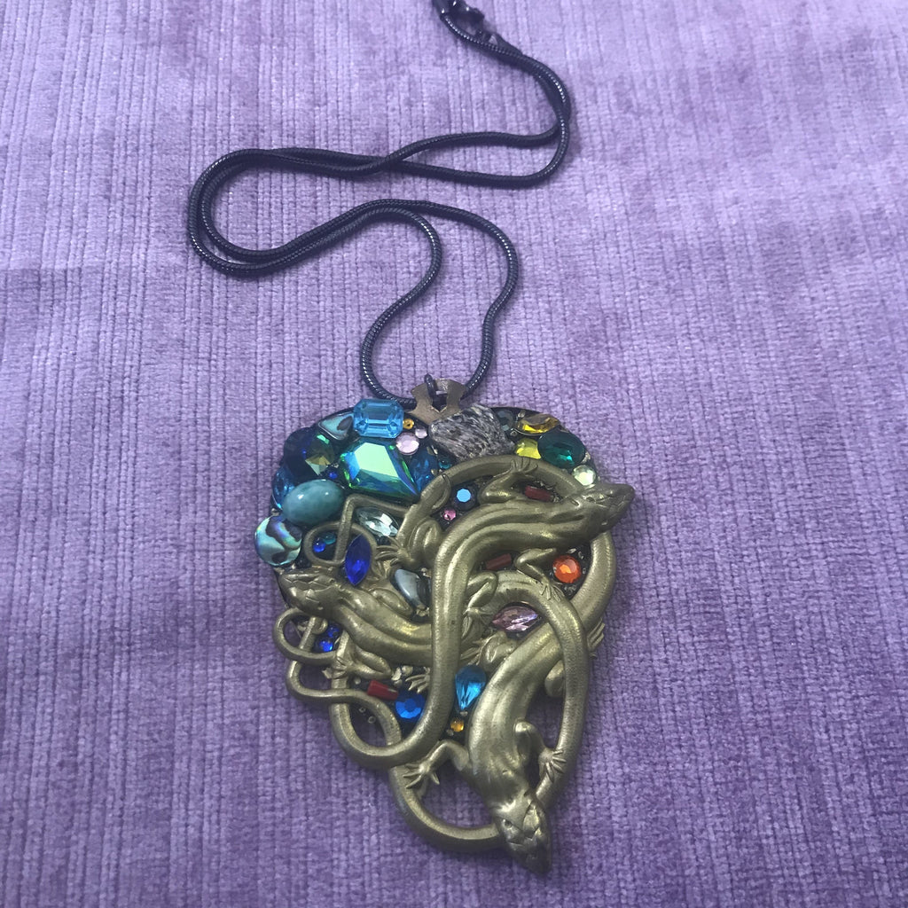 Vintage Goth style Necklace
